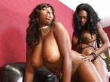 V�niv� lesbick� chv�ky s dvomi sexy sami�kami - freevideo