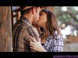 Poctivý farmársky sex so zakončením do kudničky - freevideo