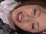 Japonská školáčka dôkladne pokrstená - freevideo