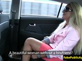 Blond cundra si to rozdá s taxikárom - freevideo