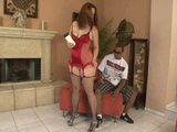 Vanessa v červenom prádielku - freevideo