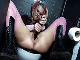 Skazené cundry zvedú chlapíka na toalete k hrátkam - freevideo