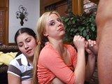 neskúsené lesbičky sa nevedia nabažiť tvrdého čuráku - freevideo