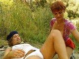 Nemecká turistka použitá priateľom a cudzincom naraz - freevideo