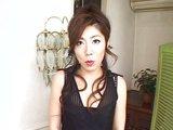Poslušná japonská ženuška vyfajčí a prehltne nádielku - freevideo