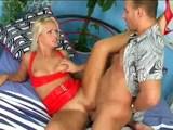 Rozko�n� chv�ky v sp�lni s jednou sexy blond�nkou - freevideo